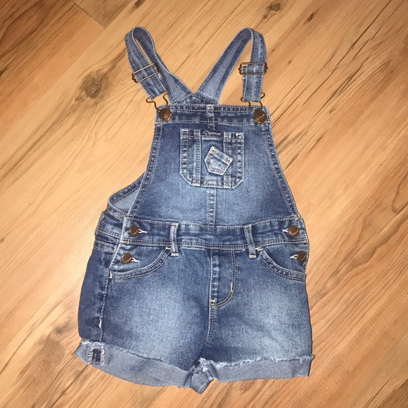 b53893aca4 Jordache Other - Jordache Toddler Girls Denim Short Overalls